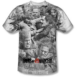 Sons Of Anarchy - Mens Brawl T-Shirt