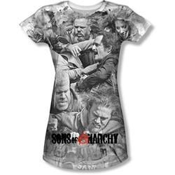 Sons Of Anarchy - Juniors Brawl T-Shirt