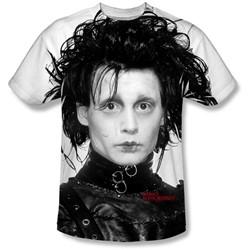Edward Scissorhands - Mens Heads Up T-Shirt