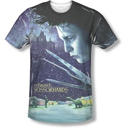Edward Scissorhands - Mens Home Poster T-Shirt