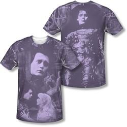 Edward Scissorhands - Mens Story (Front/Back Print) T-Shirt