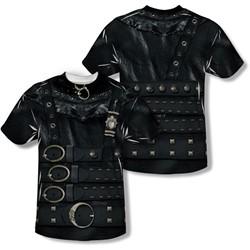 Edward Scissorhands - Mens Edward Costume (Front/Back Print) T-Shirt