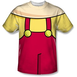 Family Guy - Mens Stewie Costume T-Shirt