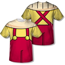 Family Guy - Youth Stewie Costume (Front/Back Print) T-Shirt