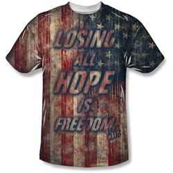 Fight Club - Mens Losing Hope T-Shirt