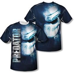 Predator - Mens Mask (Front/Back Print) T-Shirt
