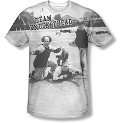 Three Stooges - Mens Team Knucklehead T-Shirt