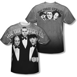 Three Stooges - Youth Classy Fellas (Front/Back Print) T-Shirt