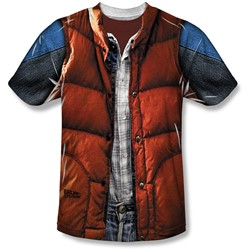 Back To The Future - Youth Mcfly Vest T-Shirt