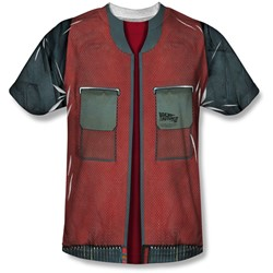 Back To The Future - Youth Future Jacket T-Shirt