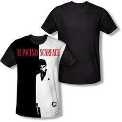 Scarface - Mens Big Poster T-Shirt