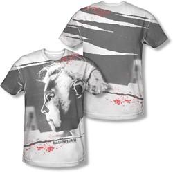 Halloween Ii - Mens Myers Mask (Front/Back Print) T-Shirt