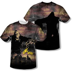 King Kong - Mens Kong In The City (Front/Back Print) T-Shirt