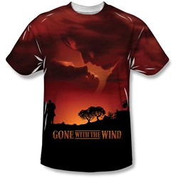 Gone With The Wind - Mens Sunset T-Shirt
