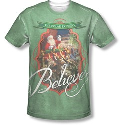 Polar Express - Mens Santa T-Shirt