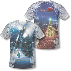 Polar Express - Mens Journey (Front/Back Print) T-Shirt