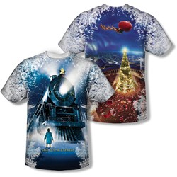 Polar Express - Youth Journey (Front/Back Print) T-Shirt