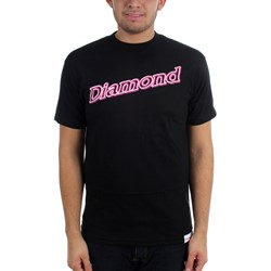 Diamond Supply - Mens Neon Script T-Shirt