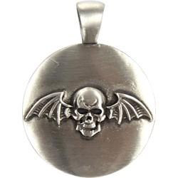 Avenged Sevenfold Deathbat Pendant (Round)