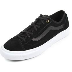 Vans - Unisex Style 36 Slim Shoes in (Gold Pop) Suede/Black