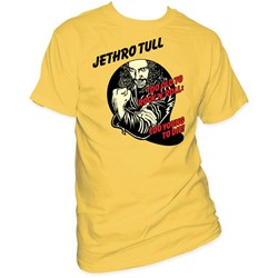 Jethro Tull -  Too Young To Die Adult S/S T-Shirt in Honey