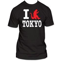 Godzilla -  I Godzilla Tokyo Fitted Jersey S/S T-Shirt in Black