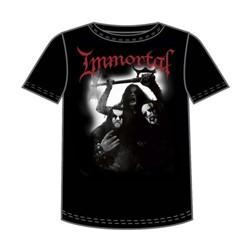 Immortal - Band Photo Mens T-Shirt In Black