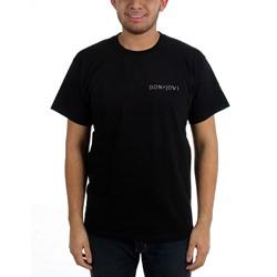 Bon Jovi - Mens Pocket Logo T-Shirt
