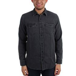 Hurley - Mens Burnt Long Sleeve Woven Shirt