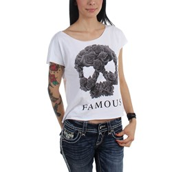 Famous Stars and Straps - Womens Rose Soul Jrs Dolman T-Shirt