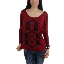 Rebel8 - Womens Womens Logo Dolman