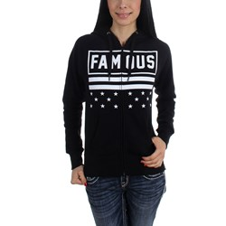 Famous Stars and Straps - Womens Freewill Jrs Zip Hoody