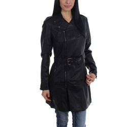 Tripp NYC - Womens Moto Trench Jacket