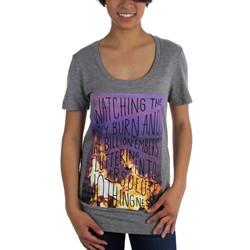 Glamour Kills - Womens Burning Embers T-Shirt