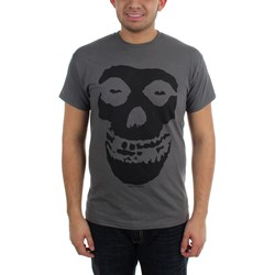 The Misfits - Tonal Fiend Skull Adult T-Shirt In Black