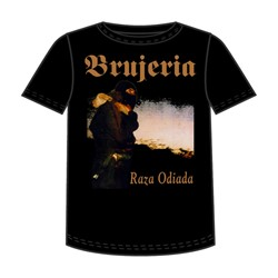 Brujeria - Raza Odiada Adult T-Shirt In Black