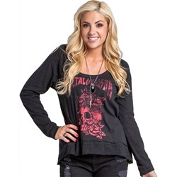 Metal Mulisha - Womens Good Riddance Long Sleeve Top