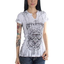 Affliction - Womens Science Western T-Shirt