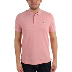 Lacoste - Mens L!VE Short Sleeve Solid Slim Pique Polo