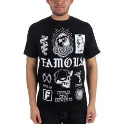 Famous Stars and Straps - Mens Pieces T-Shirt