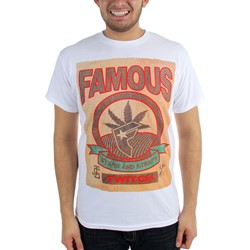 Famous Stars and Straps - Mens Twitch Burlap T-Shirt