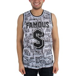 Famous Stars and Straps - Mens Bankroll Mesh Sublimation Jersey