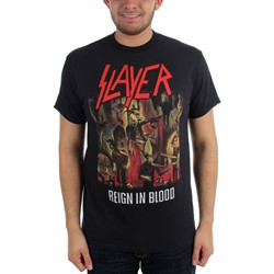 Slayer Reign In Blood Adult S/S Tee in Black