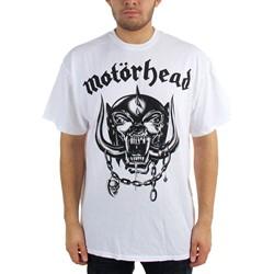 Motorhead Flat War Pig Adult S/S Tee in White