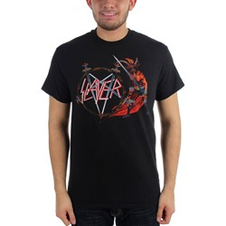 Slayer Show No Mercy Adult S/S Tee in Black