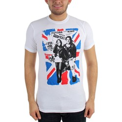 Future King - Union Jack Mens T-Shirt In White