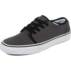 Vans - U 106 Vulcanized Shoes In Pewter/Black