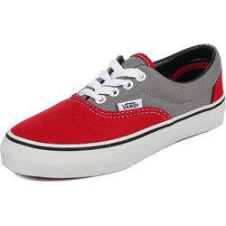 Vans - Youth K Era Shoes In 2 Tone Frost Grey/True Red