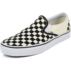 Vans - U Classic Slip-On Shoes In Black/White Checkered