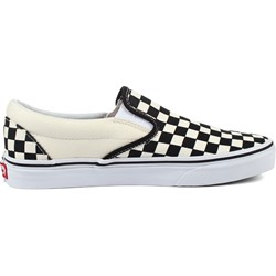 05030f6ddfde Vans. Vans - Unisex Adult Classic Slip-On Shoes In Black White Checkered